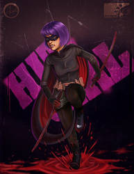 Hit Girl by eddaviel