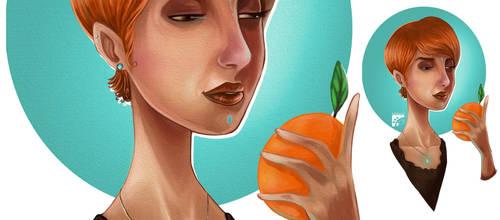Gigi Naranja by eddaviel