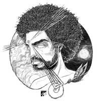 Afro-inks-13 by eddaviel