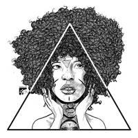 Afro-inks-14 by eddaviel