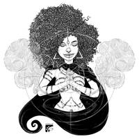 Afro-inks #15