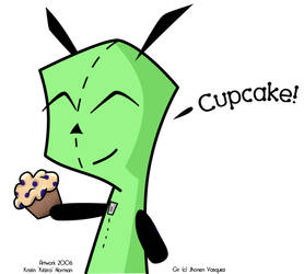 Gir's Cupcake