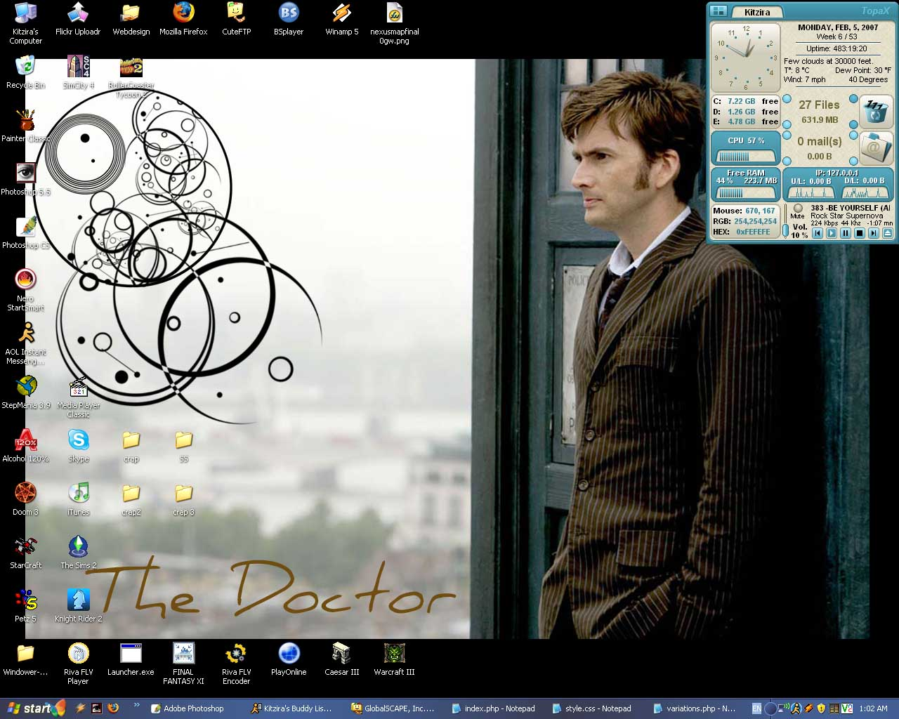 Feb. '07 Desktop by Kitzira