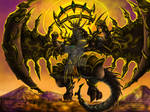 Neo Epical Golden-Coruscate draconer