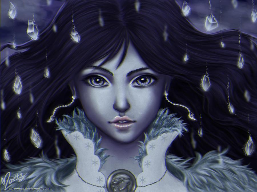 Lyanna - The Wolf Lady by Atramina