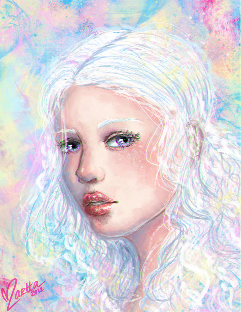Daenerys: I do not have a gentle heart by Atramina