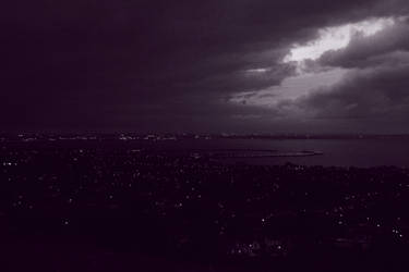 Purple Night by ILikeToStepOnCracks