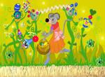 Souricette et les fleurs 5