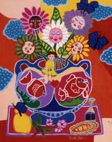Vase de fleurs by NicoleNoe