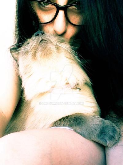 Meow love  by ZiM-ZuM