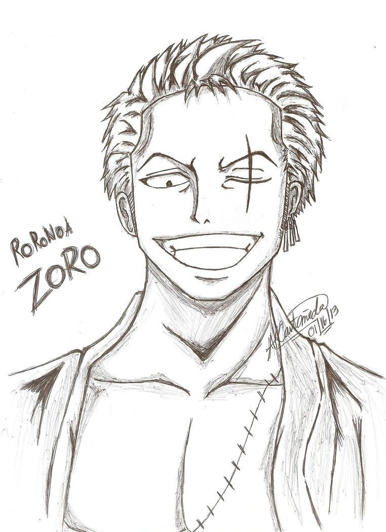 Roronoa Zoro ~ One Piece (After Time-skip) by ArisaKei