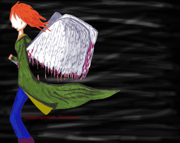 A Fallen Angel by collapsingdream