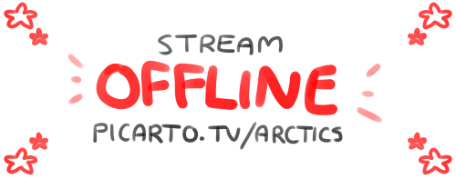 stream announcement post by ArcticLlama