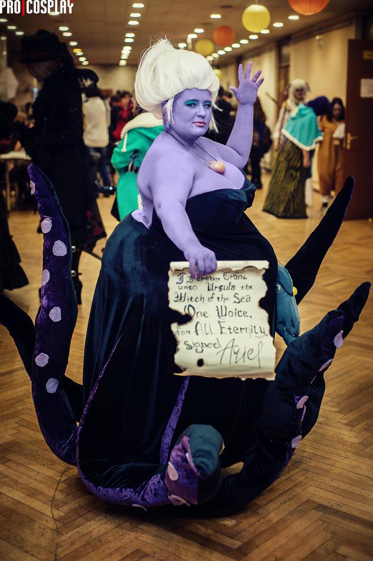 Cosplay UrsulafestivalMoscow14 by MonkeyDKiba