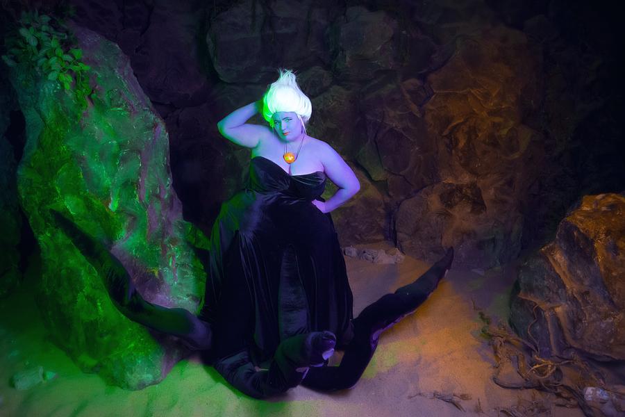 Cosplay Ursula5 by MonkeyDKiba