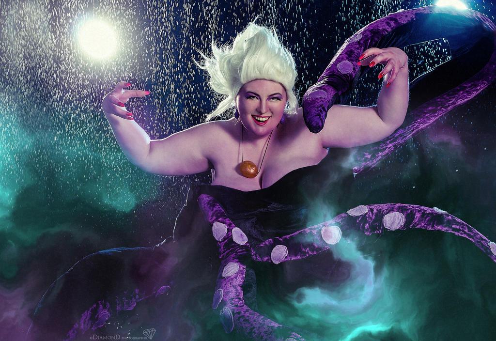 Ursula,The Little Mermaid by MonkeyDKiba