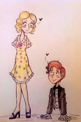 Cutie couple by FrauElla