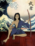Swordsman in Yukata