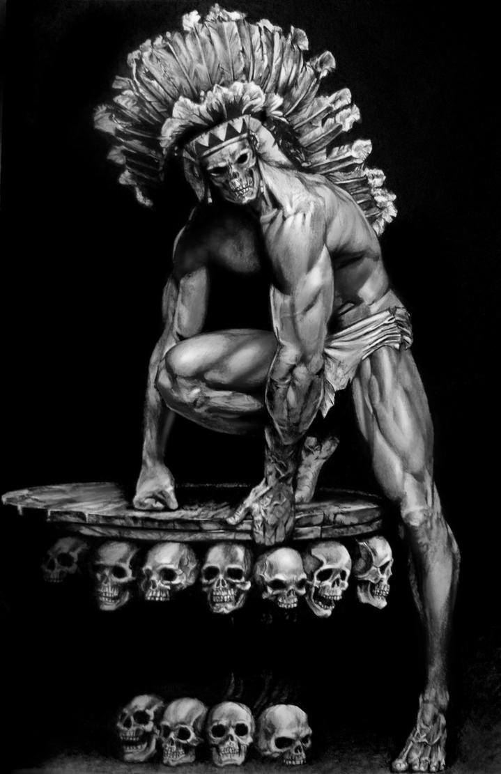 Male Warrior Art