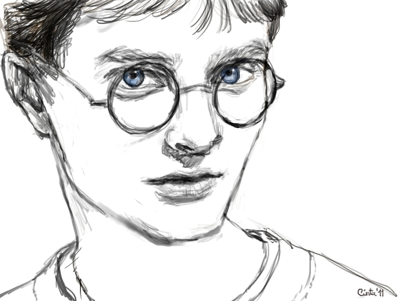 Harry Potter Sketch By Atnica On DeviantArt