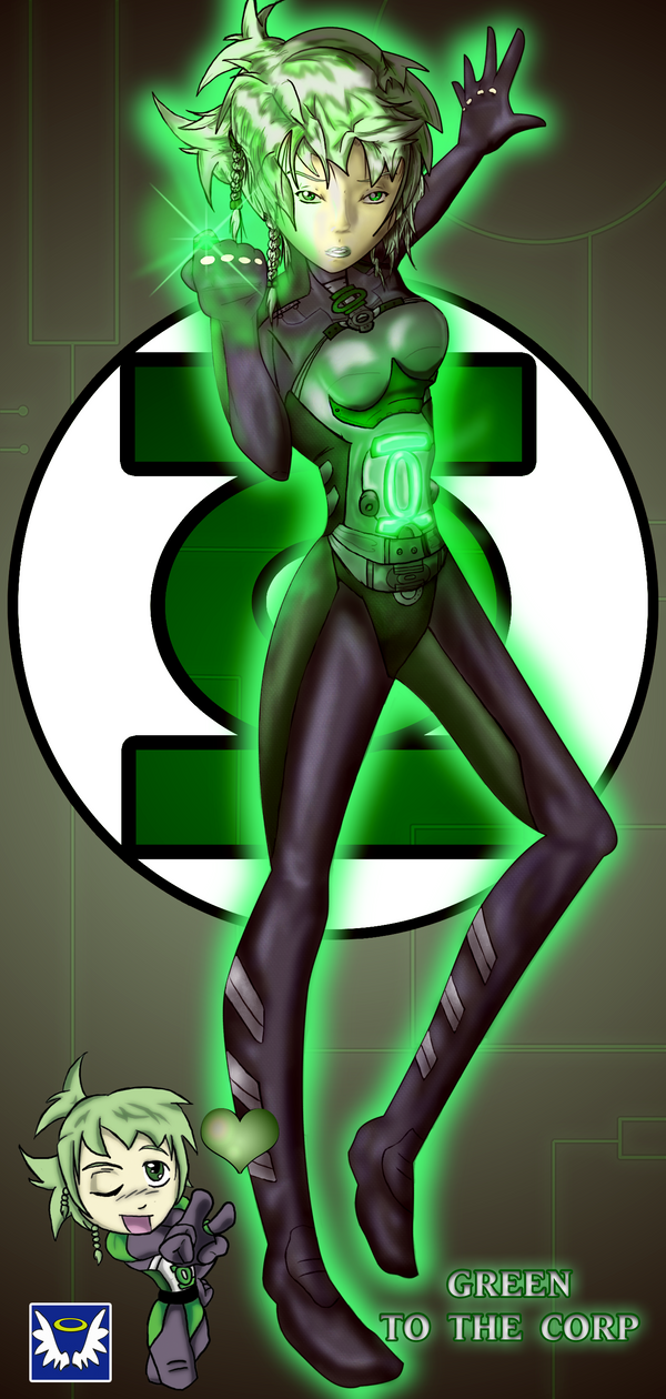 Manga Green Lantern Oc Kri By Blueserenity On Deviantart