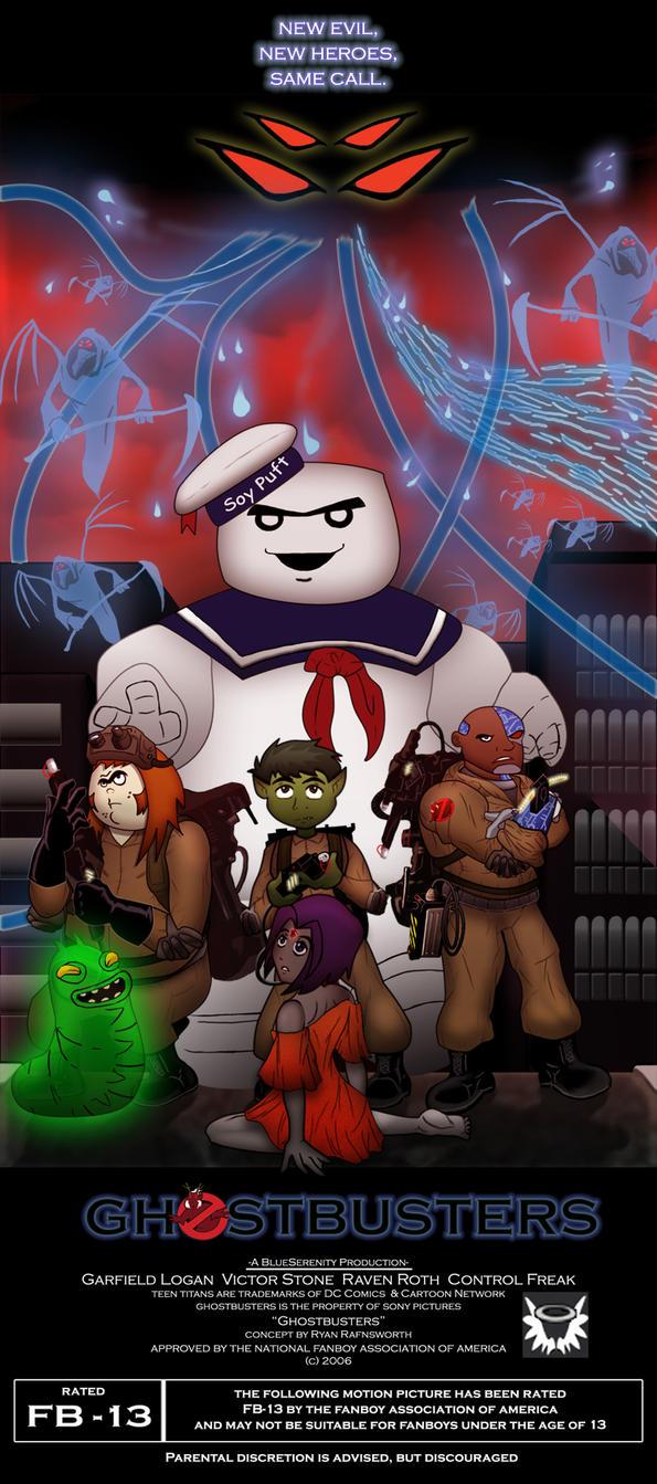 TT - Ghostbusters by BlueSerenity