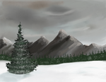 Mountains by muk1