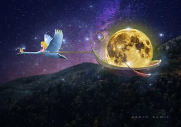 Night journey. by SaFram