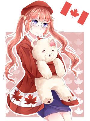 Nyo! Canada ~ by YumikoNagi