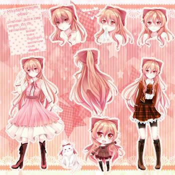 New OC Reference Sheet: Yumiko by YumikoNagi
