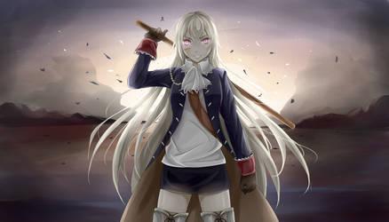 Nyo! Prussia by YumikoNagi