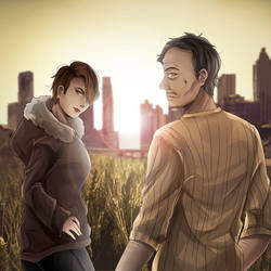 Commission: AgentPrettyBoy by YumikoNagi