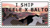 Steele/Balto Ship Stamp by dogsledshepherd