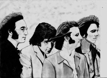 The Beatles by oliver1634