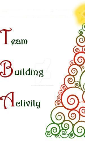 Team Building Activity Programme Christmas Theme By Mariannedee On