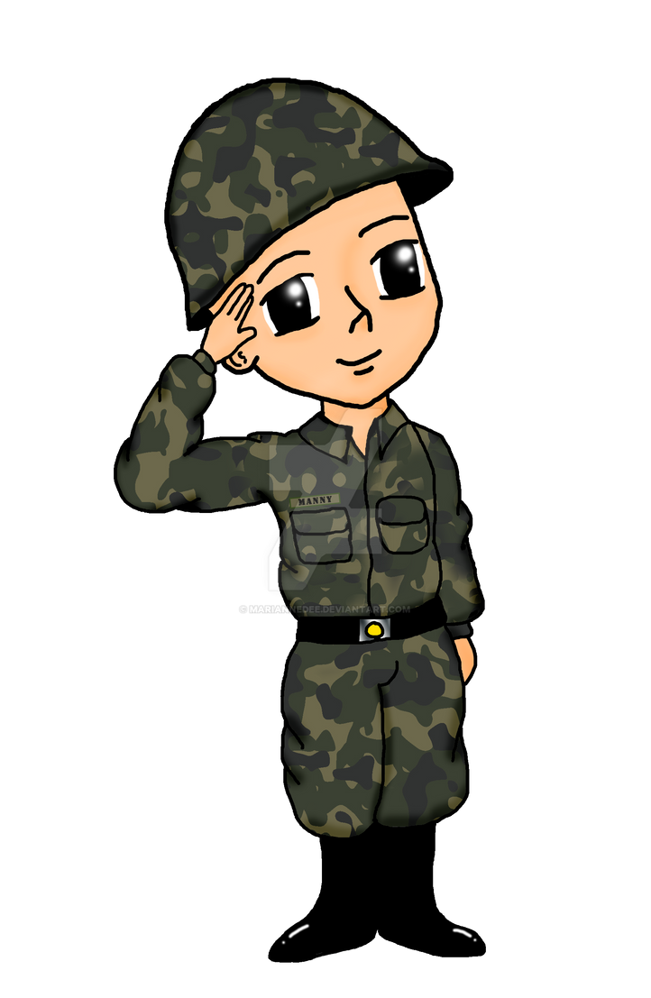 manny sundalo by mariannedee on deviantart soldier clipart kids soldier clip art images