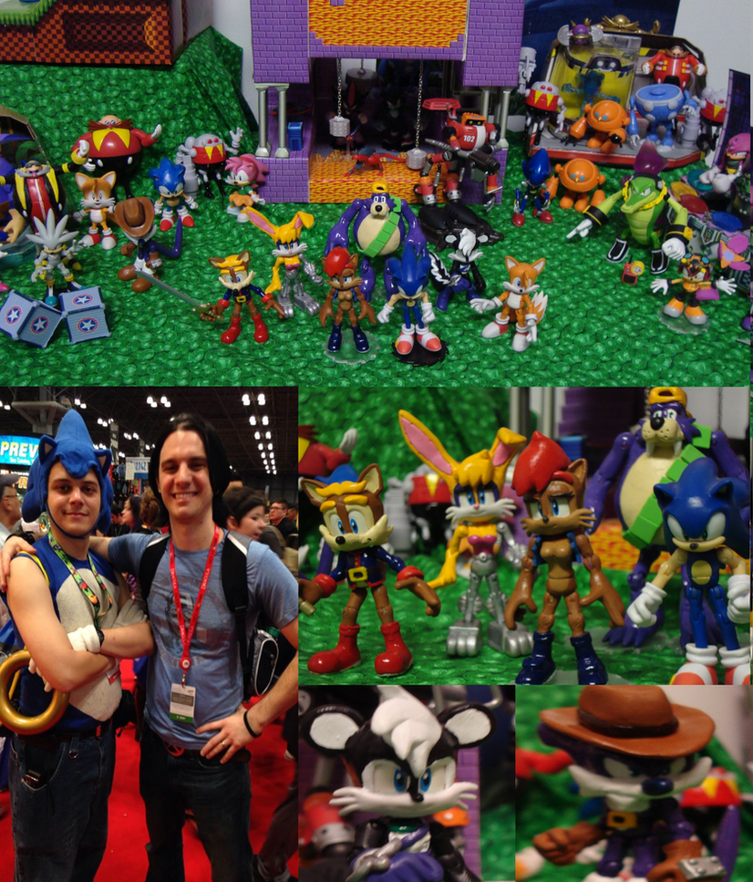 Sonic Figure Showcase! by techaspike