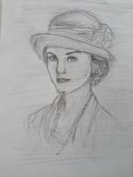 Lady Mary Crawly by Diakoart