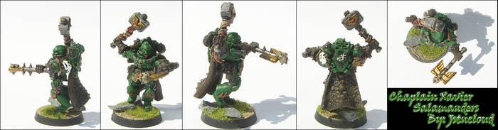 Salamanders Chaplain Xavier by jstncloud