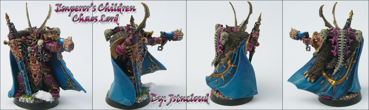 Emperor's Children Chaos Lord by jstncloud