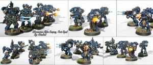 Ultramarines Alpha Company First Squad
