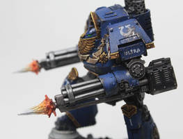 Ultramarines Alpha Company Contemptor (L.Shoulder)
