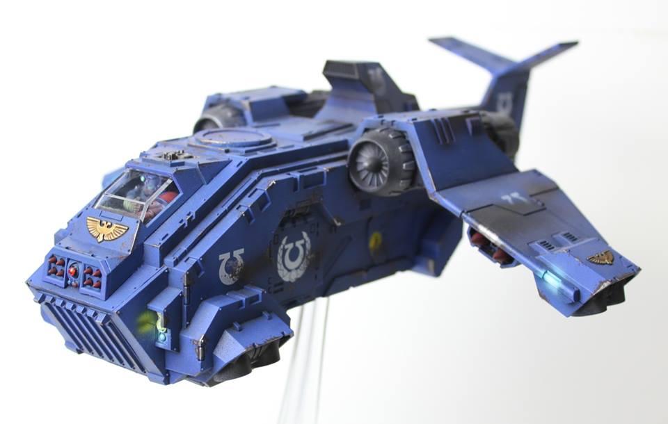 Ultramarines Storm Raven by jstncloud