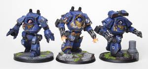 Ultramarines Contemptors GO! by jstncloud