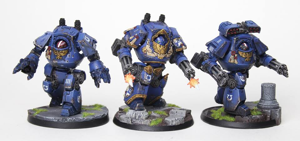 Ultramarines Contemptors GO! by jstncloud