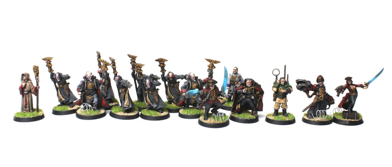 Imperial Guard (Astra Militarum) Characters by jstncloud