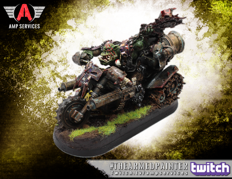 Twitch Painting: Forge World Ork Warboss