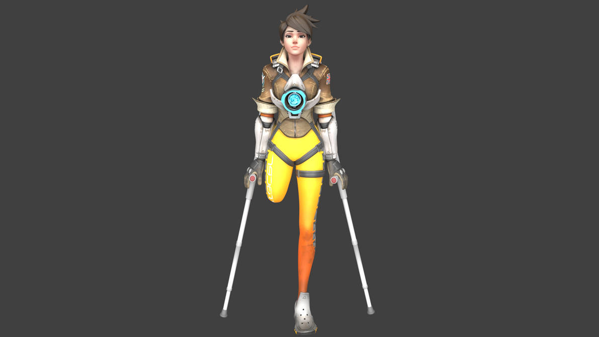 Amputee Tracer by AmputeeArt on DeviantArt