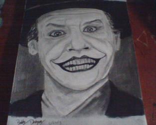 Jack Nicholson Joker by KaneFan57