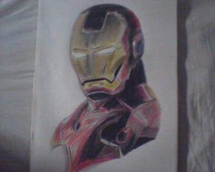 Iron Man Portrait by KaneFan57